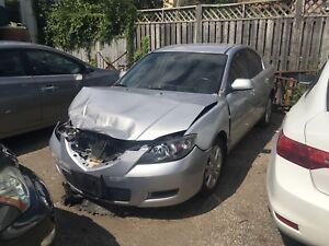 2008 Mazda 3 for salvage