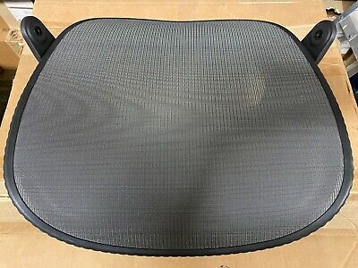 Used Herman Miller Mirra Chair Replacement Seat - 3q11 Mesh Graphite Frame