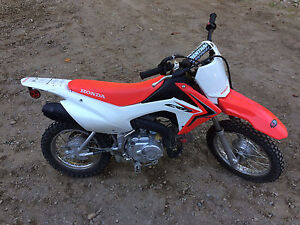 2013 Honda CRF 110f (MINT CONDITION)