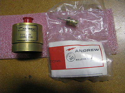 Andrew Rf Connector 50 Ohms 47n Nsn 5935-01-028-9717