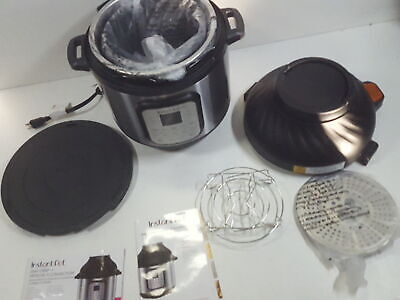 Instant Pot Duo Crisp Pressure Cooker 11 In 1 8 Qt Air Fryer Missing Lid