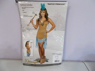Dream Girl Costume (New Dream Girl Native Indian Princess Costume Adult Large)