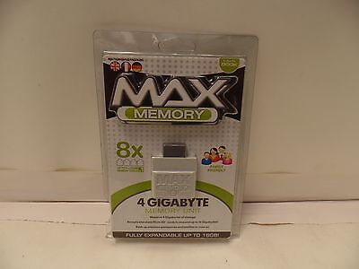 Datel MAX Memory 4GB Memory Card / Unit For XBox 360  New & Sealed BS001659 for sale  Lemon Grove