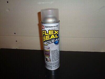 Flex Seal Clear Liquid Rubber Spray 4 Sealant Coating 14 Oz