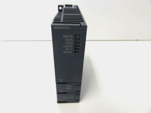 Mitsubishi Q25HCPU MELSEC-Q CPU Unit Processor 252k Steps USB