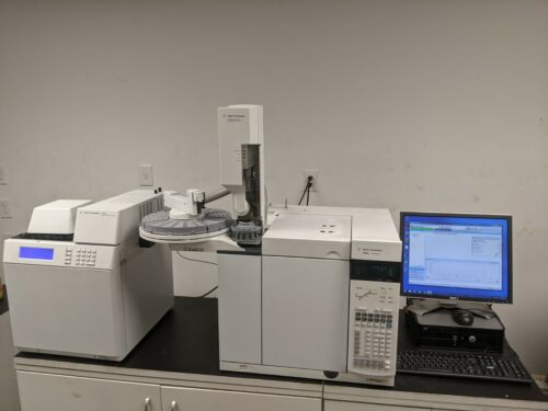 Agilent  7890A with (2) FID, (2) S/SL Inlets, G1888 Headspace and 7683 Autosamp