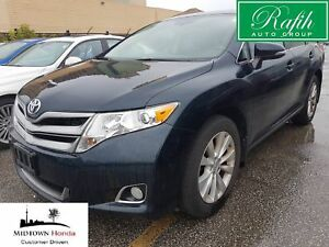 2014 Toyota Venza XLE-Black on black leather-Off lease