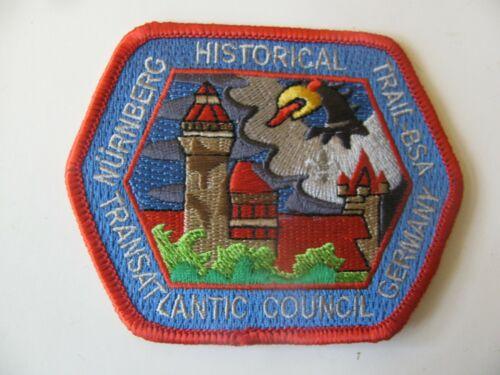 Boy Scout Transatlantic Council Nurnberg Germany Patch NOS New Stk Free Shipping