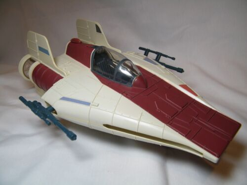 STAR WARS VINTAGE 1985 KENNER DROID A- WING FIGHTER IN BEAUTIFUL CONDITION