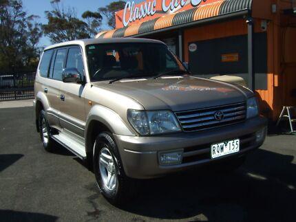 2002 Toyota LandCruiser Prado 7 Seat VX 4X4 SUV Frankston Frankston Area Preview