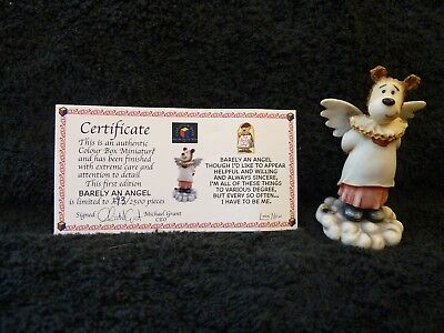 COLOUR BOX MINIATURES Barely an Angel 1st Edition - No.293/2500