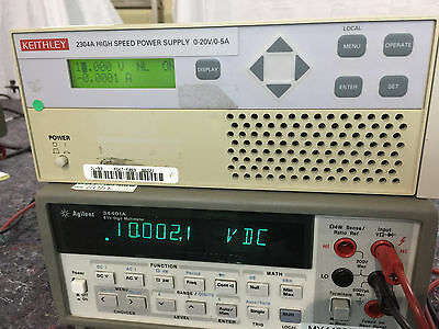 Keithley 2304A High Speed Power Supply 0 20V  0 5A