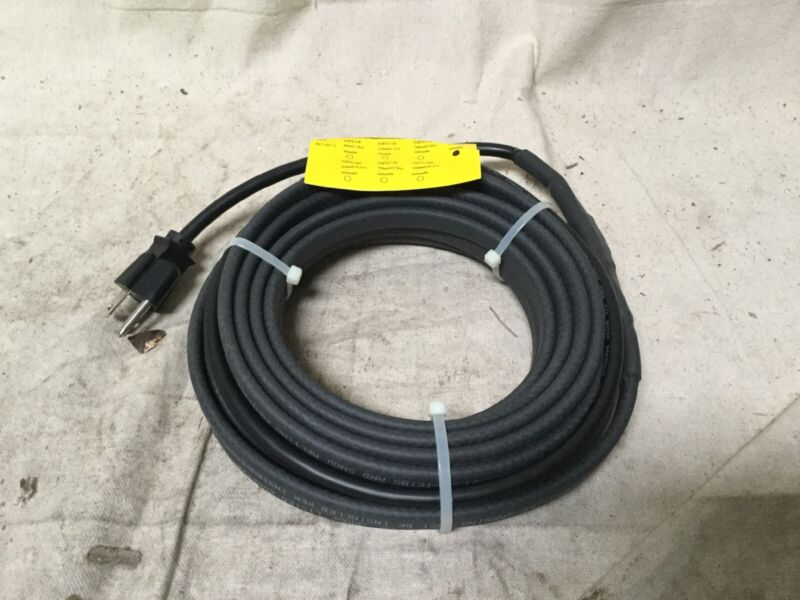 24 ft Self Regulating Heating Cable Wet or Dry Max. Circuit Length 200 ft 120VAC