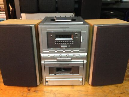 Audio sonic mini hifi system working