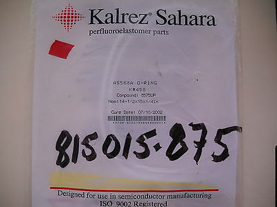 Kalrez Sahara Oring  As568a O Ring  K  458  Compound  8575Up  Dupont Dow