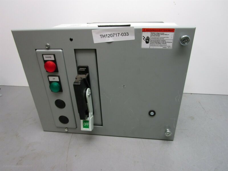 "Siemens Tiastar Size 1 27 amp 12"" MCC Bucket 9-18 amp Overload HEM3M30 Breaker"