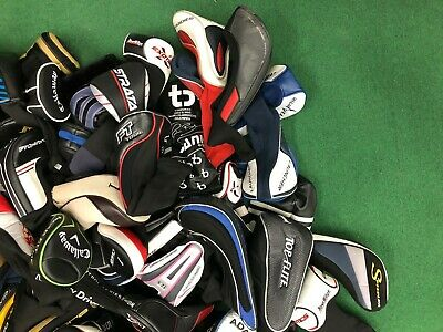 Lot of Golf Club Head Covers Drivers Hybrids Woods Putter All Name Brands! Hybrid Putter Headcovers