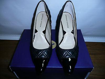 Adrienne Vittadini Footwear Women's Jantine Platform Pump, Black Soft Nappa, 7 M ()