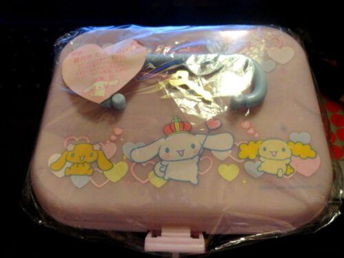 Vintage sanrio cinnamoroll pink plastic jewelry box   brand new