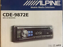 ALPINE TUNER/MP3/CD RECEIVER & PANASONIC 2-WAY SPEAKERS Neutral Bay North Sydney Area Preview