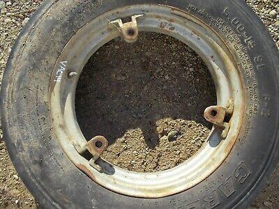 Case Vac 14 Vac14 Tractor 5.00x 15 Front Carlise 3 Rib Tire 3 Bolt Style Rim Vac