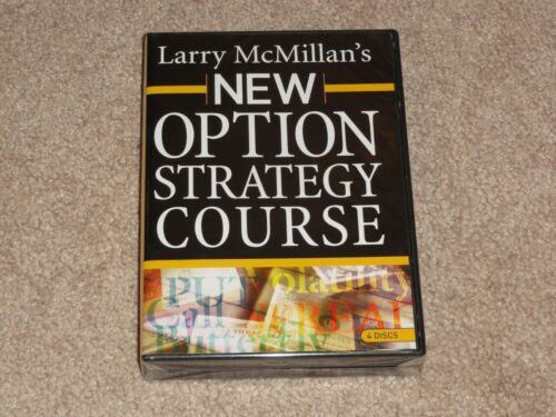 Larry Lawrence McMillan New Option Strategy Course 4 Trading DVD