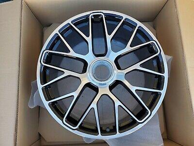 "20"" Porsche 991 Turbo S front center lock OEM factory wheel rim 911 991.2 GTS"