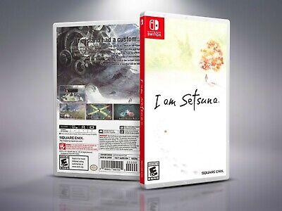 I Am Setsuna - Replacement Nintendo Switch Cover & Case. NO GAME!!