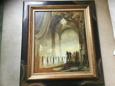 Roger Suraud  original oil painting in frame Bought direct at his old Gallery px