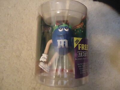 2004 M&M Bendable Body Character Blue M&M