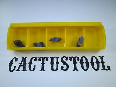New Box 4 Pcs Kennametal Nt2lk Kc5010 Threading Top Notch Carbide Inserts