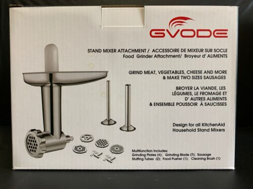 Food Grinder Attachment for KitchenAid Stand Mixers Includin