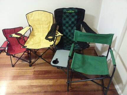 camping chairs (Four for $35)