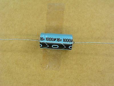 S00774-098 1 Pc Lot 1000 Mfd 16 Volt Axial Aluminum Electrolytic Capacitor