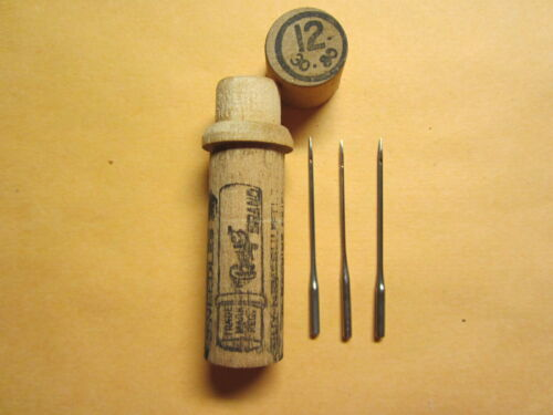 Boye White, AG Mason 20x1 Treadle Sewing Machine Needles / 20x1