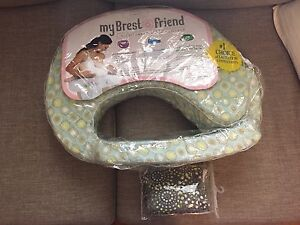 Brest friend nursing pillow and extra cover