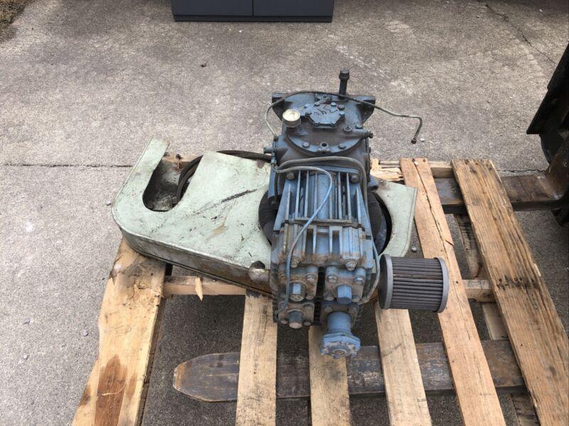Quincy 325 Air Compressor Pump and Flywheel