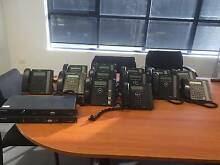 LG ERICSON IPECS BUSINESS PHONE SYSTEM X 13 PHONES & 2 BOXES St Marys Penrith Area Preview