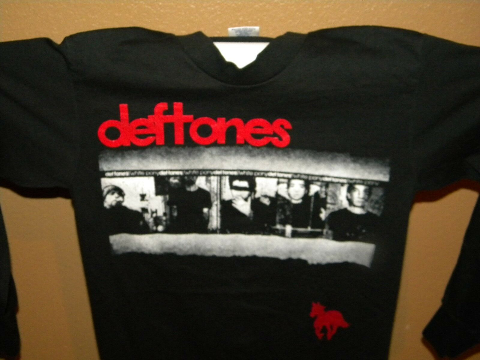 Deftones White Pony Long Sleeve T-Shirt Size Medium