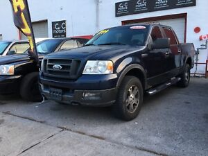 2005 FORD F150 4x4  WARRANTY 3 MONTHS INCLUDED
