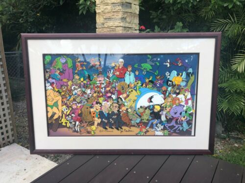 "Hanna-Barbera Hand Painted Limited Edition Cel ""All Together Now"" Signed"