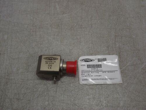 CTC AC208-1A High Temperature Accelerometer Acceleration Sensor 100mV/g ± 80 g