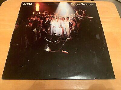 Vintage Abba Super Trooper Vinyl Album Record LP 33 RPM