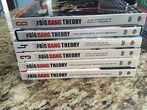 Big Bang Theory Seasons 1-6