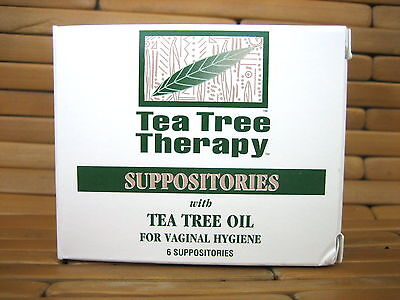 Tea Tree Therapy Suppository 2gm 6pc