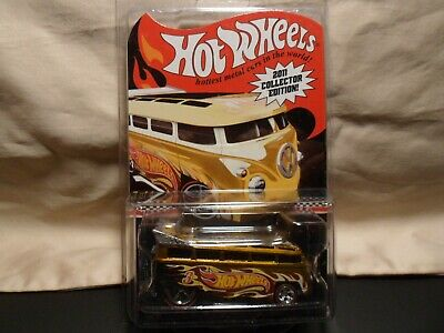 HOT WHEELS 2011 EDITION VOLKSWAGEN T1 DRAG BUS FREE SHIPPING