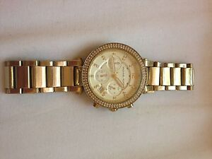 Michael Kors Women's Gold Stainless Steel Watch Rose Bay Eastern Suburbs Preview