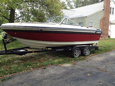 1988 Charger Ski Boat. 21ft Open Bow Runabout