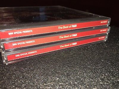 THE BEST OF R&B 3 CD Set BMG Pointer Sisters Aretha Franklin 5th Dimension