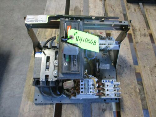 CUTLER HAMMER MOTOR CONTROL CENTER ITEM A UNIT 3FA #3PH# 1141000B USED